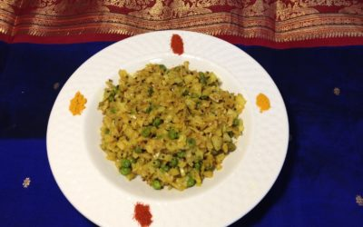 Recipe: Curried Cabbage with Green Peas