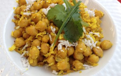 Recipe: Chick Peas with Grated Coconut