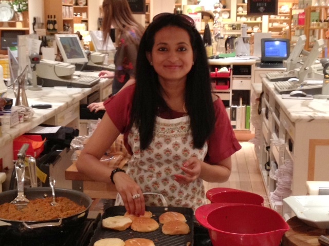 My Clicks and experience cooking @ Williams Sonoma!