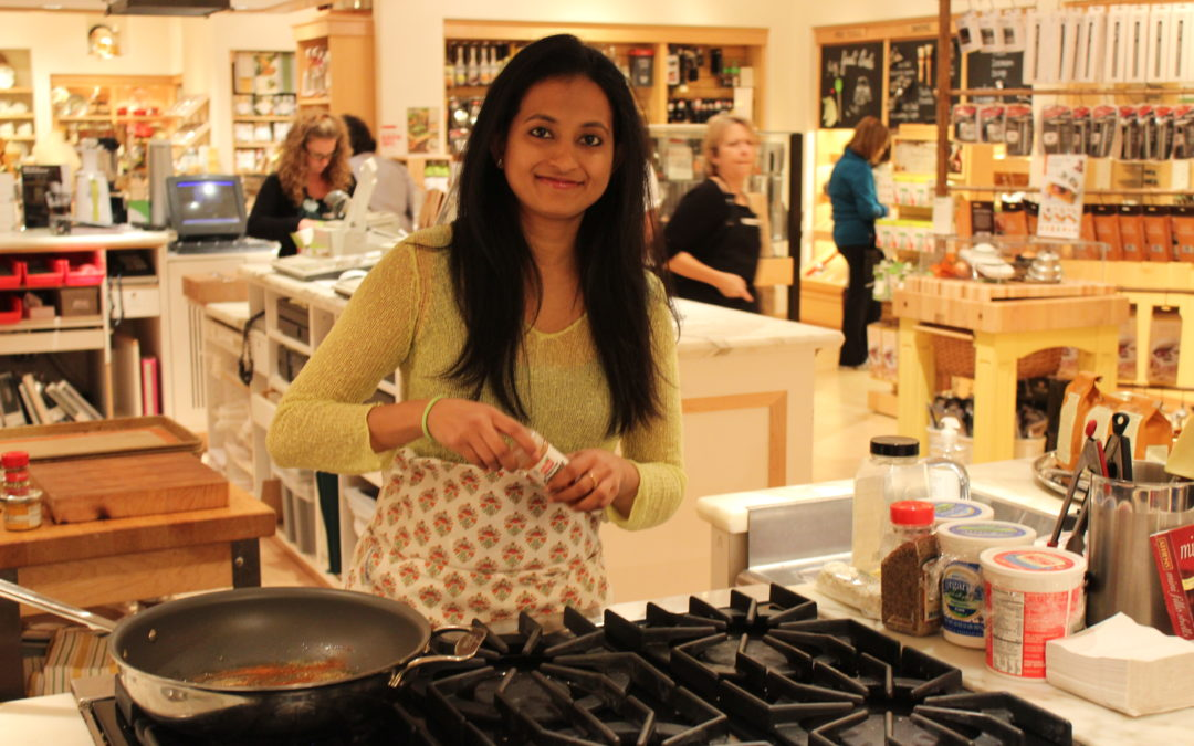 Williams Sonoma Cooking Demo on 23rd March,1-4pm