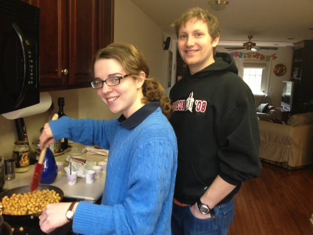 Cooking with Ben and Becca!