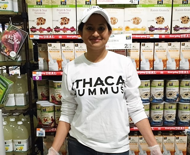 Ithaca Hummus Product Demo 4/23/16