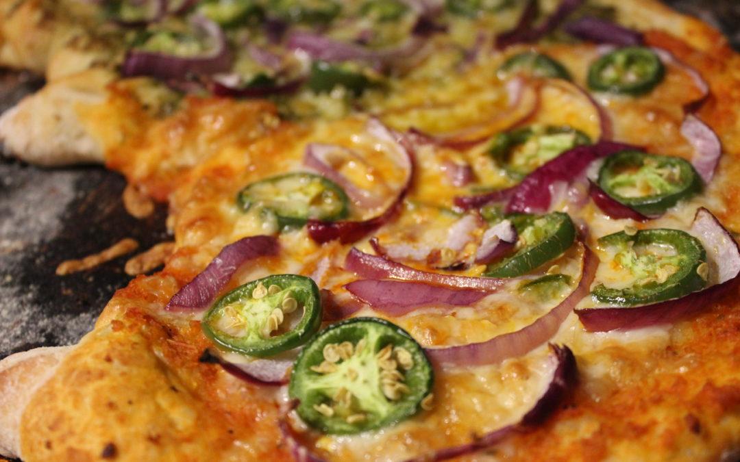 Quinoa Spread Pizza!