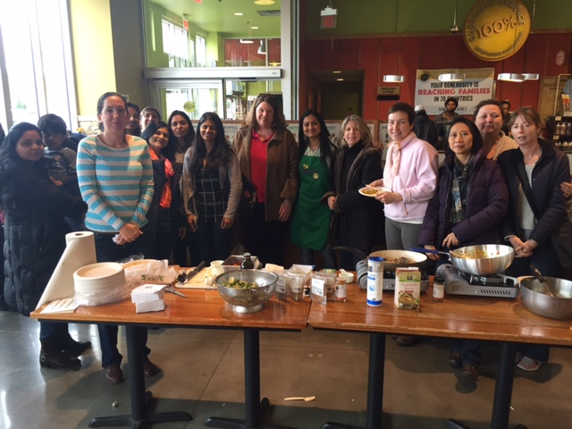 COOKING CLASS AT WHOLE FOODS, MILLBURN/VAUXHALL/ UNION ON MARCH 19TH AT 2 PM.