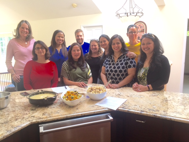 Cooking Class for the Newcomers-Encore Club of Short Hills and Millburn