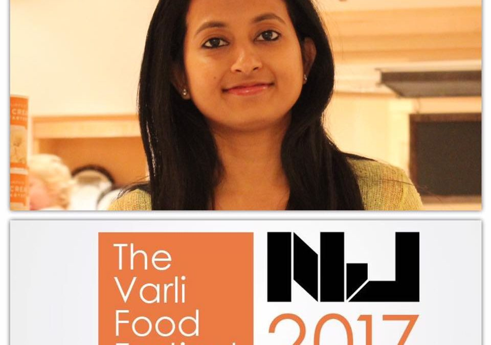 Watch me cook @ the Varli Food Festival with Sanjeev Kapoor