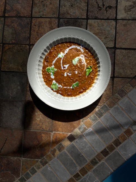 "Black Lentil Soup popularly known as ""Dal Makhani"""