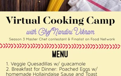 Summer Camp – Virtual Cooking